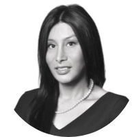Image shows a portrait photo of Luisa Sotelo, Global Finance Director for Asylum Access