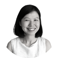 Image shows a portrait photo of Hui Ying Tham, Executive Director of Asylum Access Malaysia