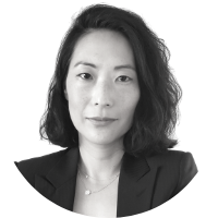 Image shows a portrait photo of Joyce Song, a member of the Board of Directors.