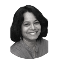 Image shows a portrait photo of Shalini Nataraj, a member of the Board of Directors.